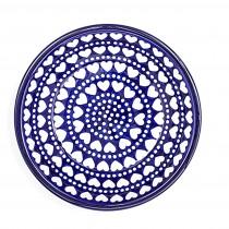 Diep Bord  21 cm. Blue Valentine