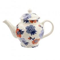 3 Mug Teapot Anemone