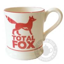 Half Pint Mug Total Fox