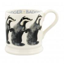 Half Pint Mug Badger