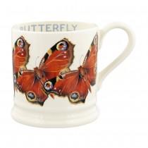Half Pint Mug Peacock Butterfly