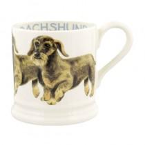 Half Pint Mug Dogs Dachshund Draadhaar