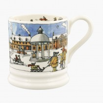 Half Pint Mug Winter Scene 2020
