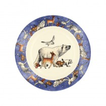 8 1/2 Inch Plate Winter Animals