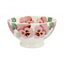 French Bowl Pink Pansy