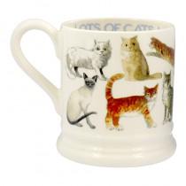 Half Pint Mug All Over Cats