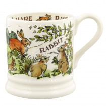 Half Pint Mug Rabbit & Hares