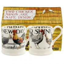 Half Pint Mug Rise & Shine (set)