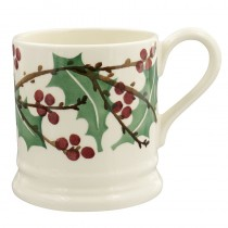 Half Pint Mug Winter Berry