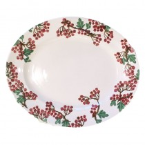 Medium Oval Plate Hawthorn Berries