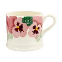 Baby Mug Pink Pansy