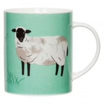 Hugletts Wood Big Mug Sheep