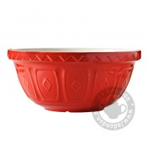 Mengkom Coloured Rood 24 cm.