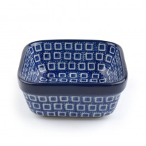 Bakje Vierkant 170 ml. Blue Diamond (1428)