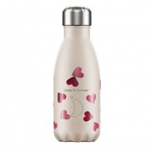 Chilly's Bottle Pink Hearts 260ml