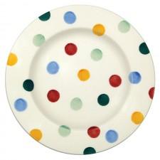 6 1/2 Inch Plate Polka Dots