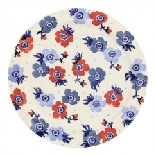 Large Serving plate Anemone