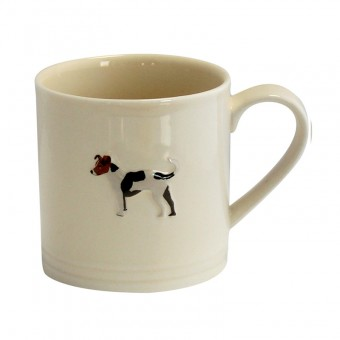 Bailey Mug 250ml Jack Russel Cream