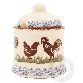 Jam Pot Cock & Hen