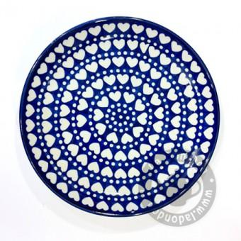 Bord 23.5 cm. Blue Valentine