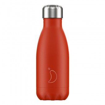 Chilly's Bottle Neon Red 260ml