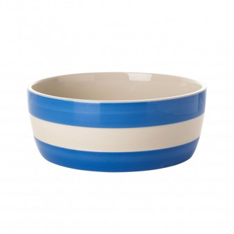 Dog Bowl Cornish Blue