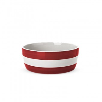 Dog Bowl Cornish Red