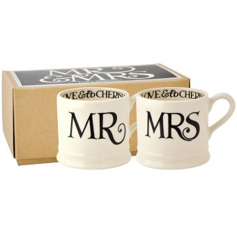 Baby Mug Mr & Mrs (set)