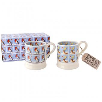 Half Pint Mug Christmas Stamps (set)