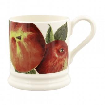 Half Pint Mug Vegetable Garden Apples