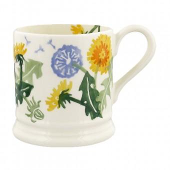 Half Pint Mug Flowers Dandelion