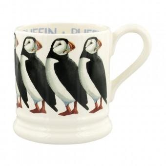 Half Pint Mug Birds Puffin