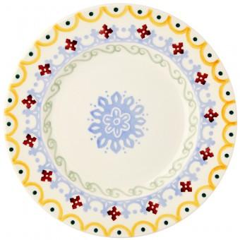 8 1/2 Inch Plate Folk Border