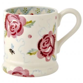 Half Pint Mug Rose & Bee