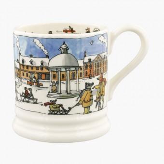 Half Pint Mug Winter Scene 2020
