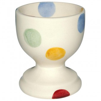 Egg Cup Polka Dots