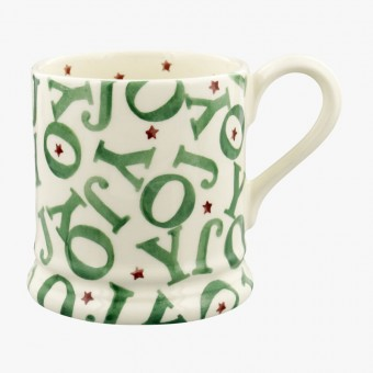 Half Pint Mug Christmas Joy