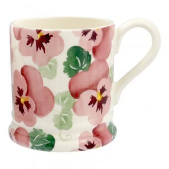 Half Pint Mug Pink Pansy