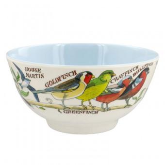 Melamine Bowl Garden Birds