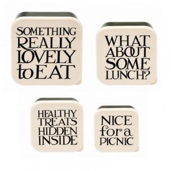 Lunch Box Set Black Toast