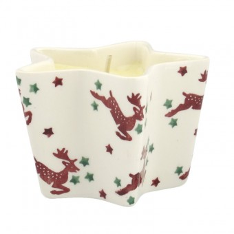 Star Candle Reindeer