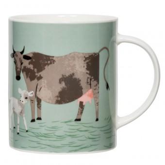 Hugletts Wood Big Mug Cow