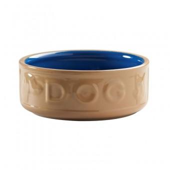 Dog Bowl Cane Blue 17 cm