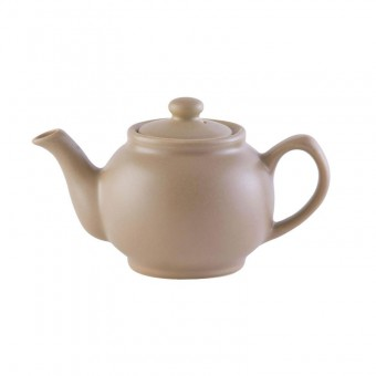 Theepot 6 cup Matte Taupe