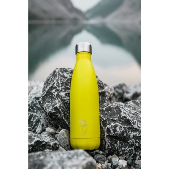 Chilly's Bottle Neon yellow 500ml