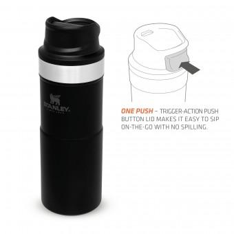 Trigger-Action Travel Mug 0,35L Matte Black