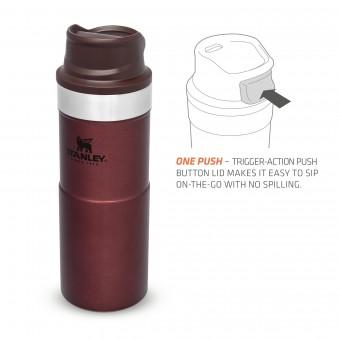Trigger-Action Travel Mug 0,35L Wine