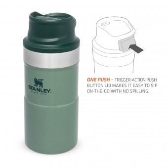 Trigger-Action Travel Mug 0,25L Hammertone Green