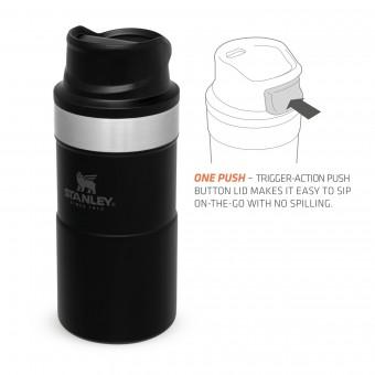 Trigger-Action Travel Mug 0,25L Matte Black