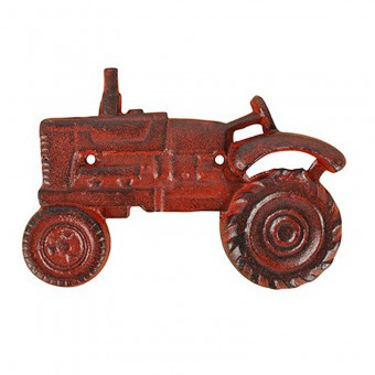 Flessenopener Tractor Rood.